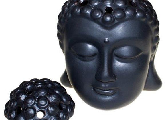 Brûleur de parfums tête de bouddha