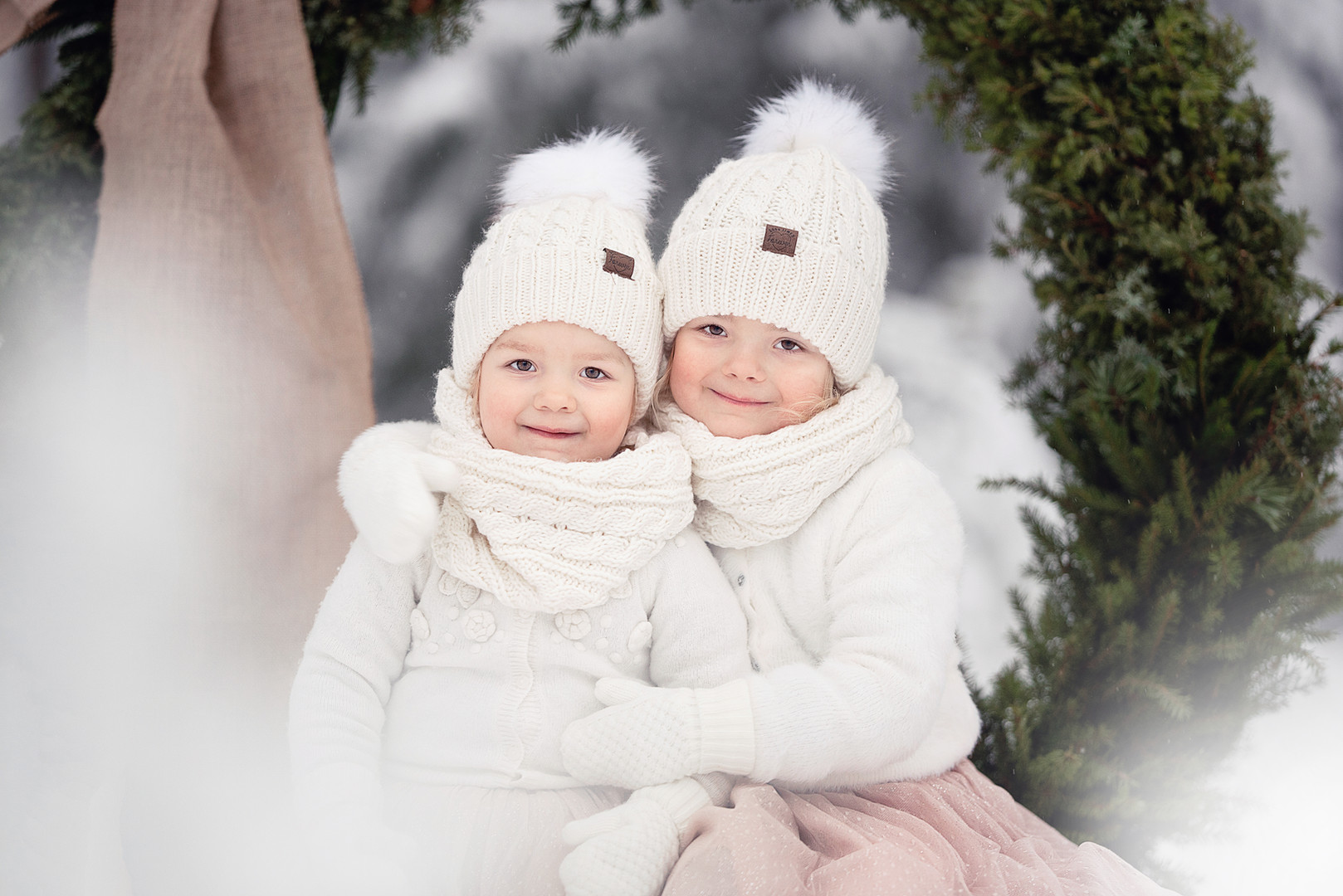syskonfotografering i Umeå
