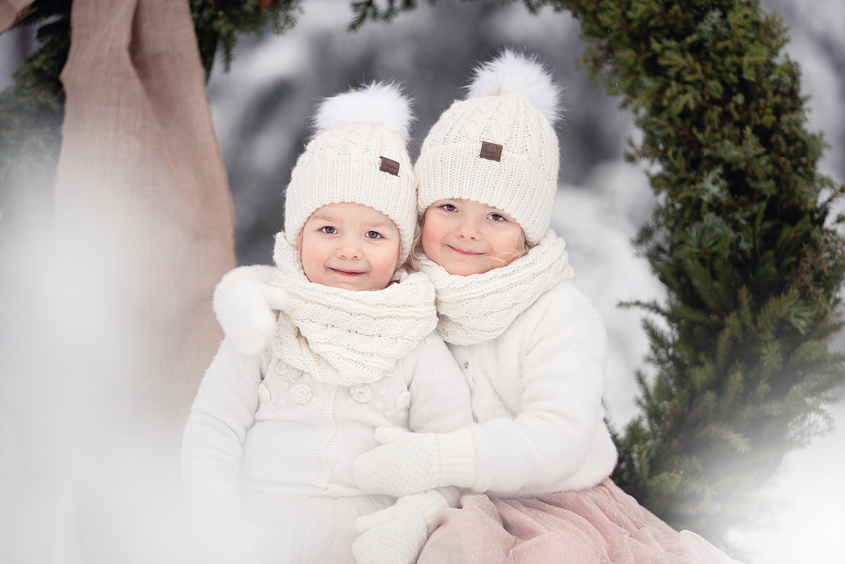 Barnfoto, vintermagi