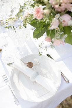 Inspirationsdukning Bröllop
