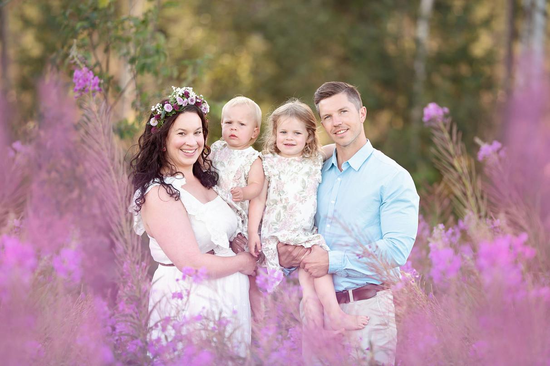 Familjefotografering i Umeå