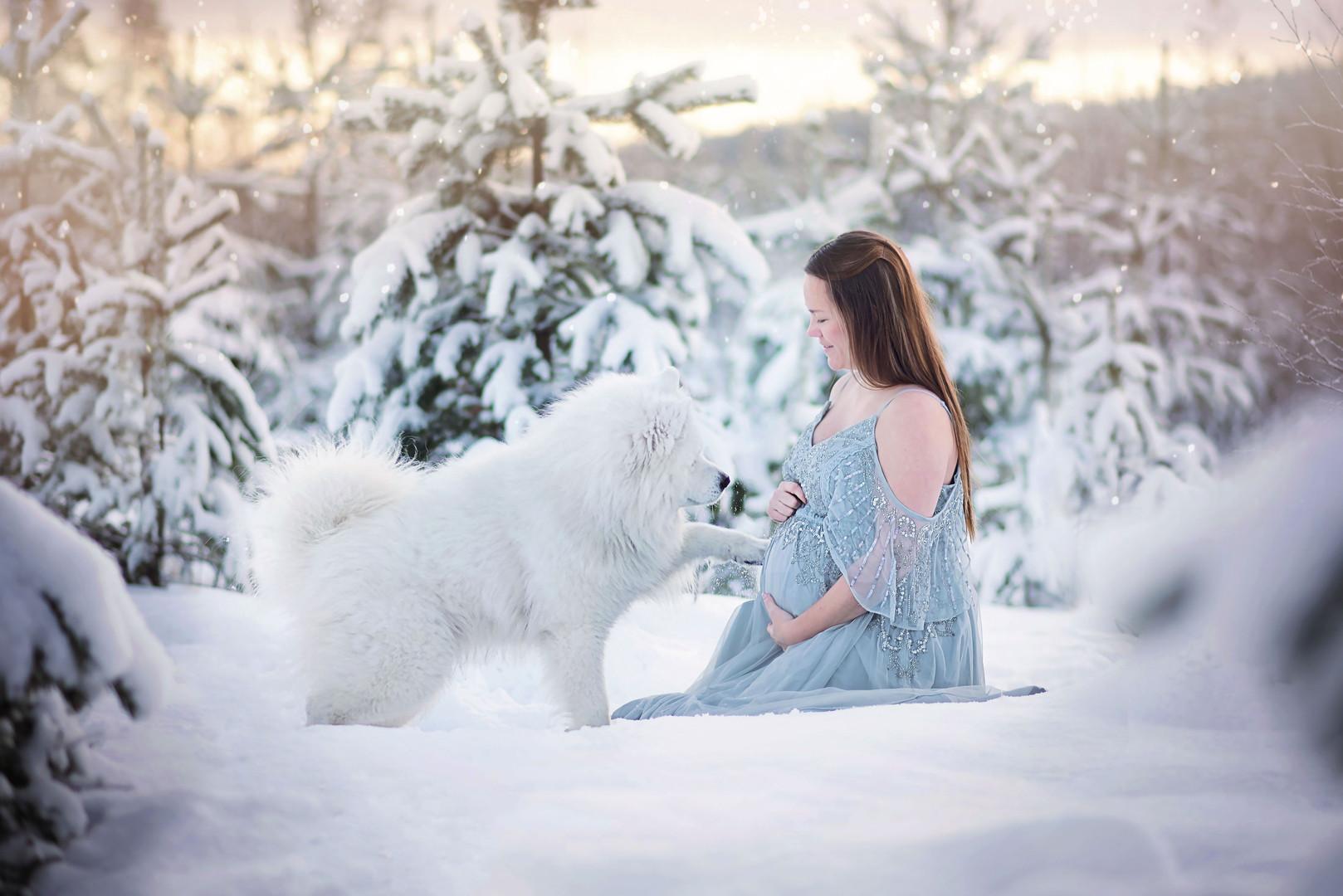 Gravidfotografering i Umeå