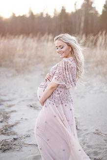 Gravidklänningar fotograf Umeå