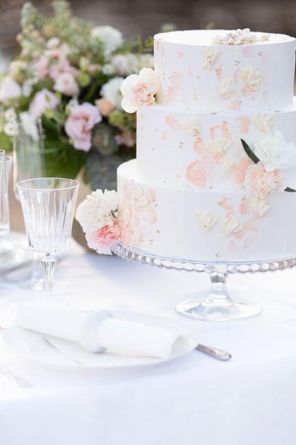 Bröllopstårta av Maddes bak i Umeå