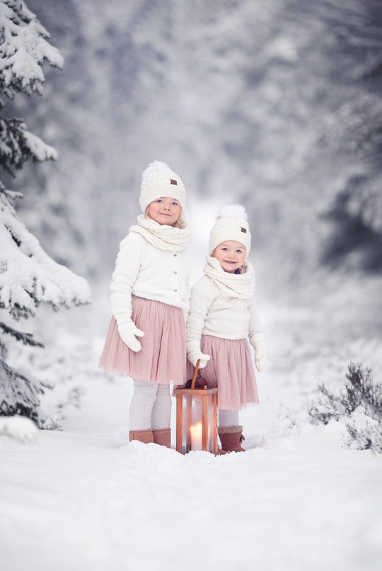 Vinterfotografering i Umeå