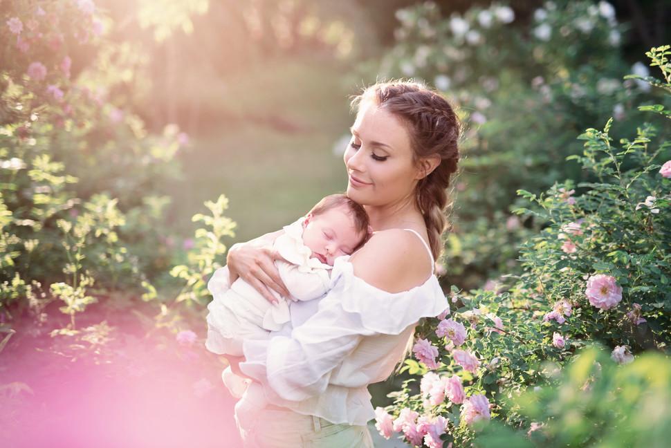 Nyföddfotografering i Umeå