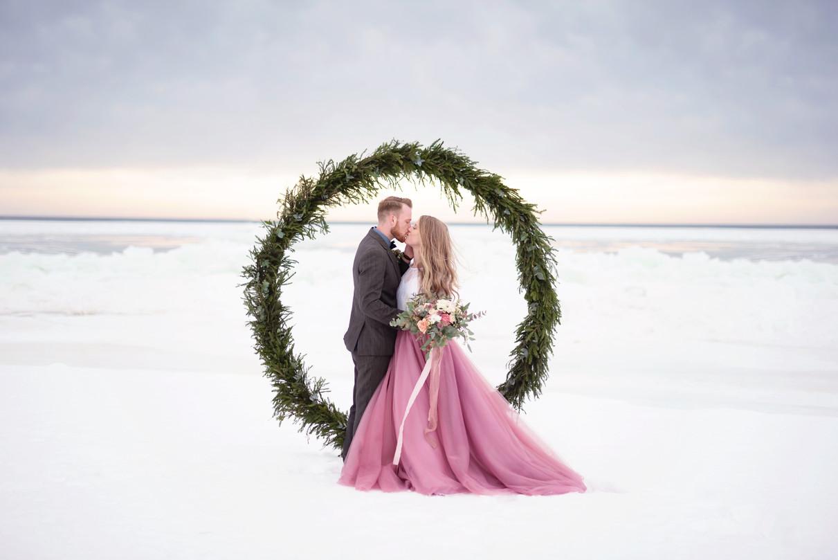 Bröllopsfotografering på Bettnessand