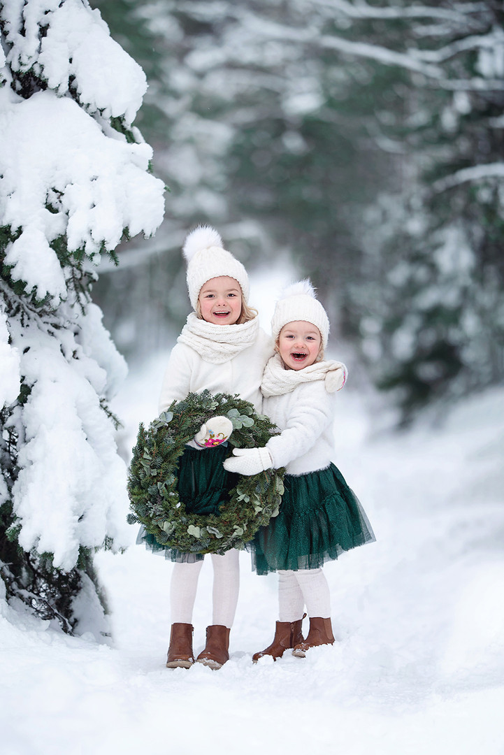 Julkort, Christmas minis