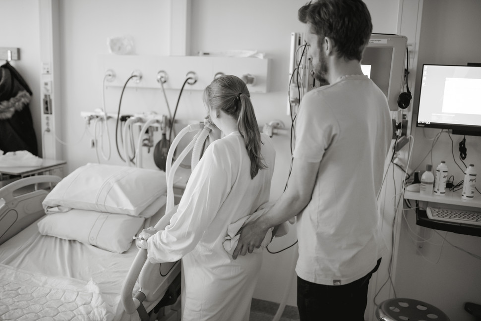 Förlossningsarbete Umeå med partner