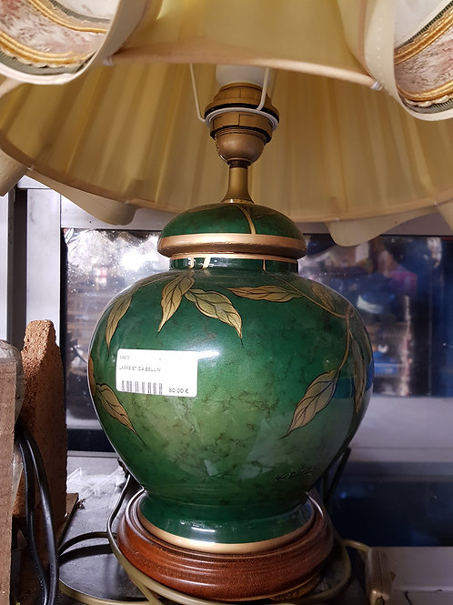 LAMPE DE SALON VERTE