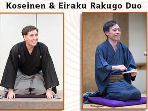 Koseinen & Eiraku English Rakugo Duo