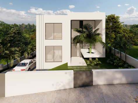 Moradia em terreno descendente - House in descending slope - São João da Talha, Loures
