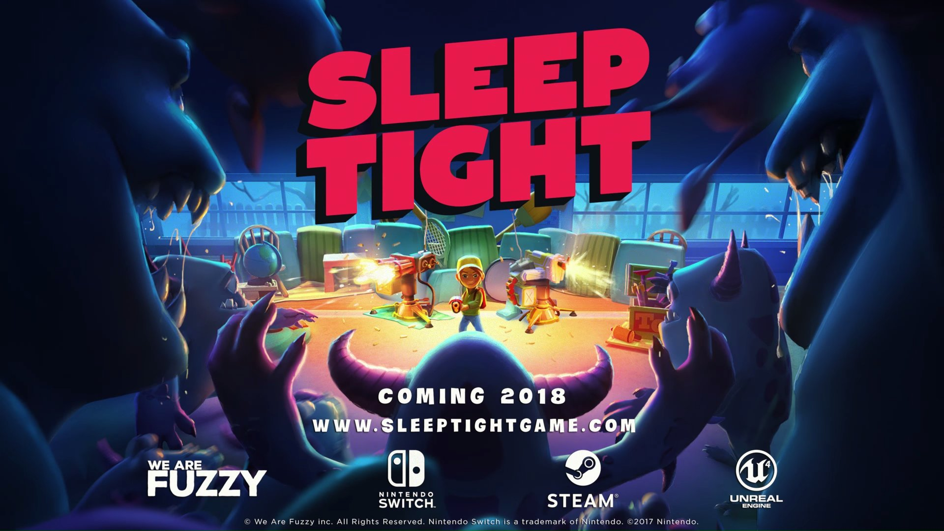 Sleep Tight - Nintendo Switch, Steam