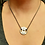 Thumbnail: Anilha NO PAIN NO GAIN (unissex) em titânio (somente no prata)