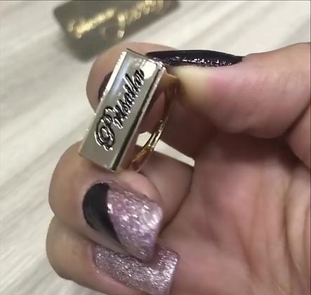 Anel personalizado banhado a ouro 18 k ou ouro branco