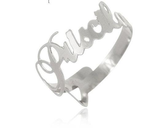 anel personalizado ajustável