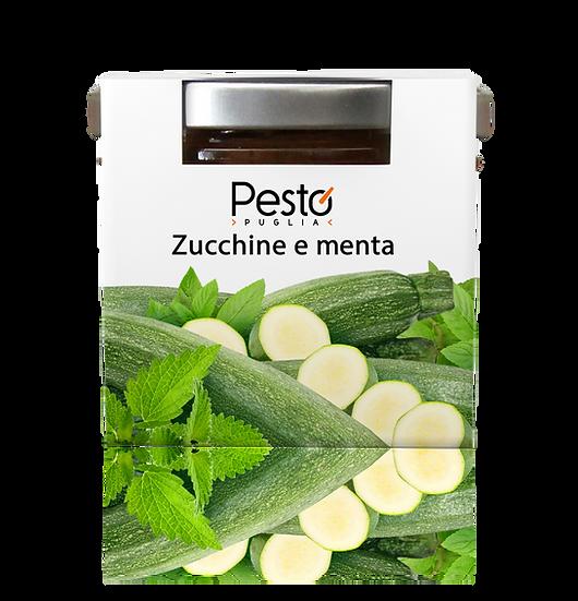 Pesto Zucchine e menta