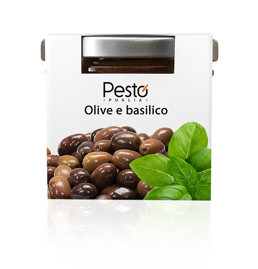 Pesto Olive e basilico
