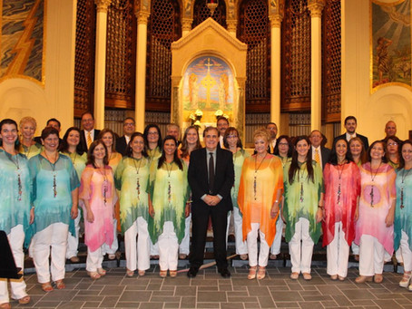 Celestial Voices: Amazonia's Christmas Concert at Trinity Episcopal Cathedral