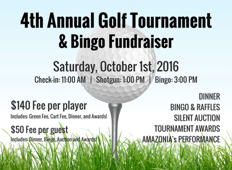 Golf Tournament & Bingo Fundraiser