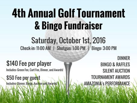 Golf Tournament & Bingo Fundraiser