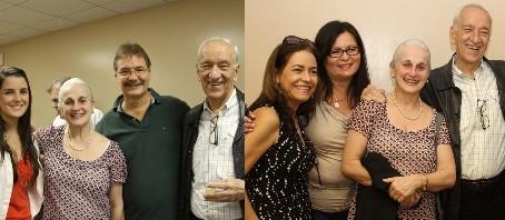 Visit of Maria Guinand and Alberto Grau