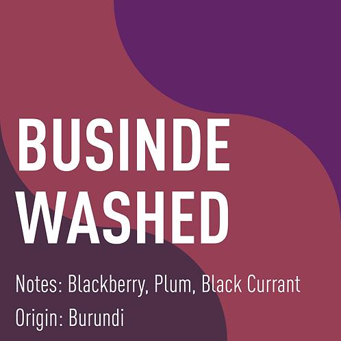Burundi Businde (notes: Blackberry, Plum, Black Currant)