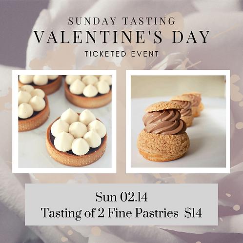 Sunday Tasting: Valentine's Day Fine Pastry (Sun Feb 14) 12:30 - 1:30pm
