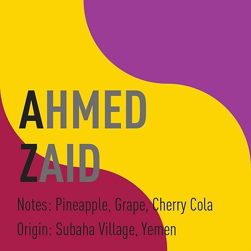Yemen Ahmed Zaid (notes: Pineapple, Grape, Cherry Cola)