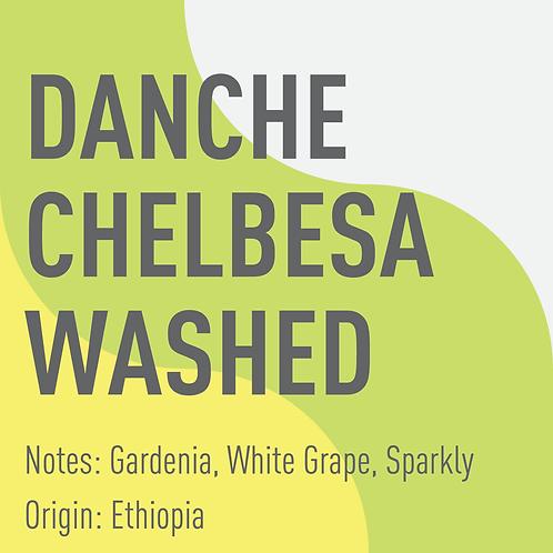 Ethiopia Danche Chelbesa Washed (notes: gardenia, white grape, sparkly)
