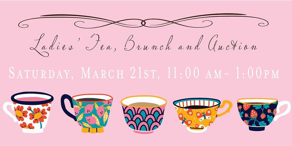 Ladies Tea, Brunch and Silent Auction