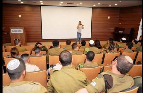 יצחק טולדנו - הרצאה לחיילים