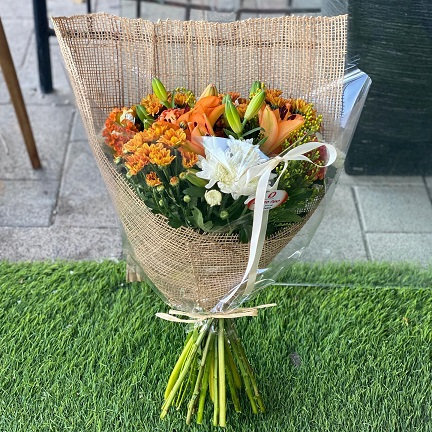 זר פרחים 11