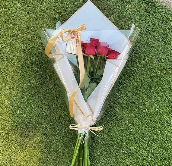 זר ורדים 12