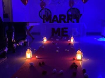 הצעת נישואין בטבע או במבנה