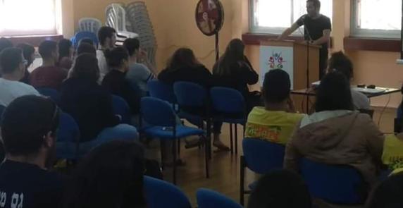 הרצאה לבתי ספר יצחק טולדנו
