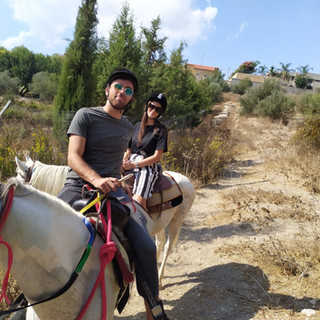 טיול סוסים חוות נוף הרים בגליל