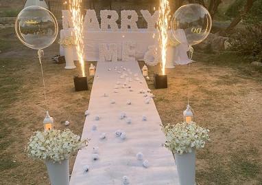 הצעת נישואין מרגשת בצפת