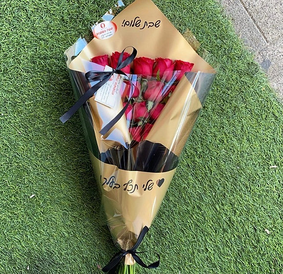 זר ורדים 4