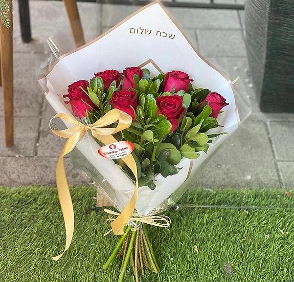 זר ורדים 7