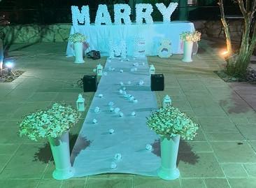 הצעת נישואין בטבע סוגה בושנים