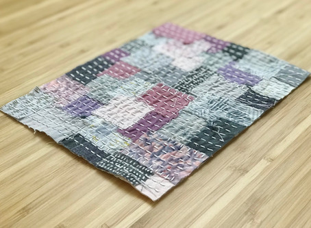 Patchwork Sashiko Kit to Project Series: Part II