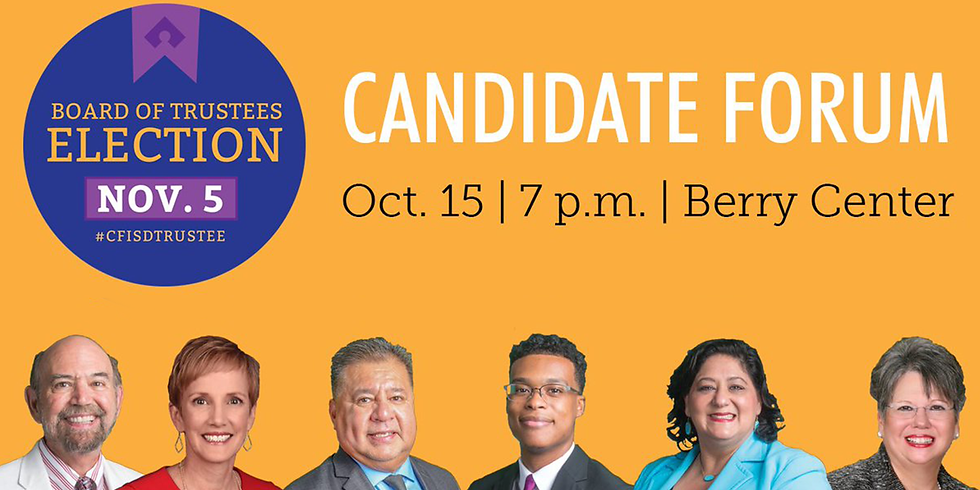 Trustee Election - Candidate Forum