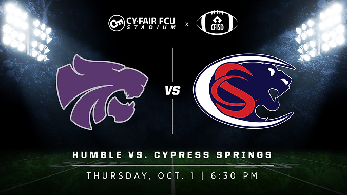 Humble vs Cypress Springs