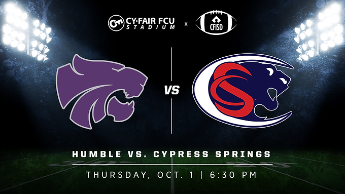 Humble vs Cypress Springs