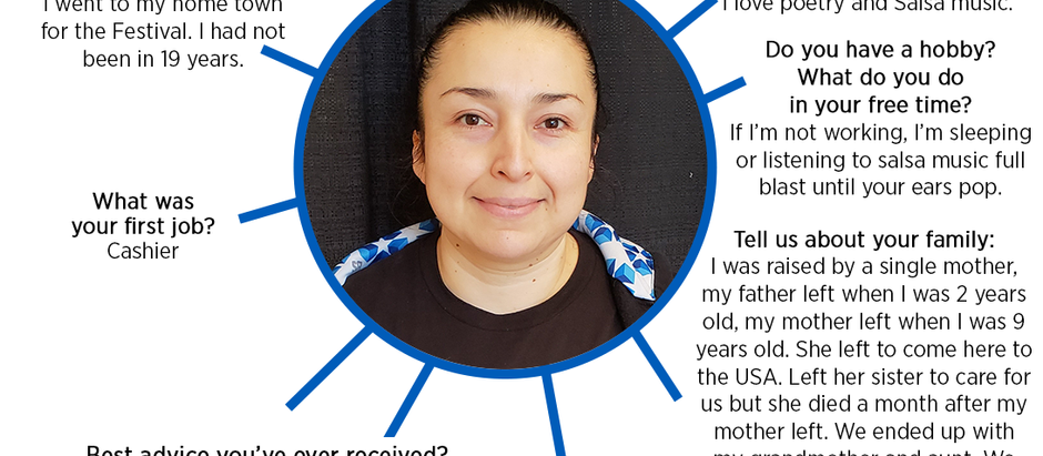 MEET SARA RIVAS, CUSTODIAL