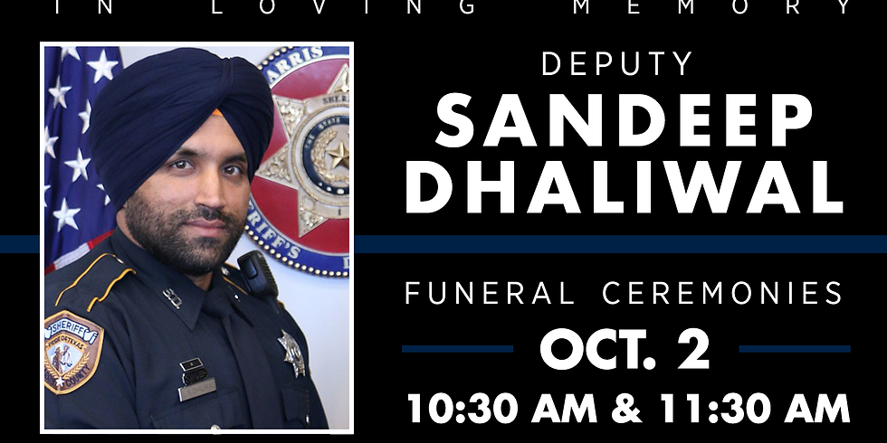 Deputy Sandeep Dhaliwal Funeral
