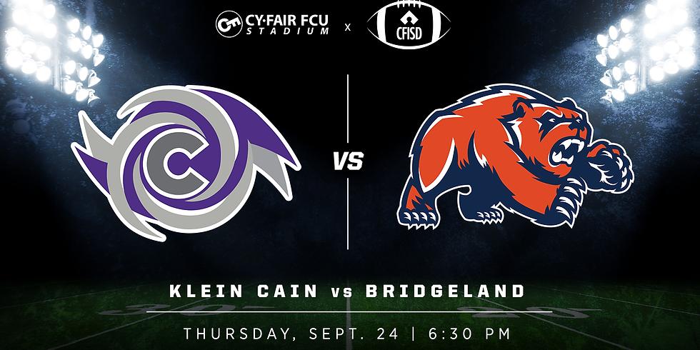 Klein Cain vs. Bridgeland