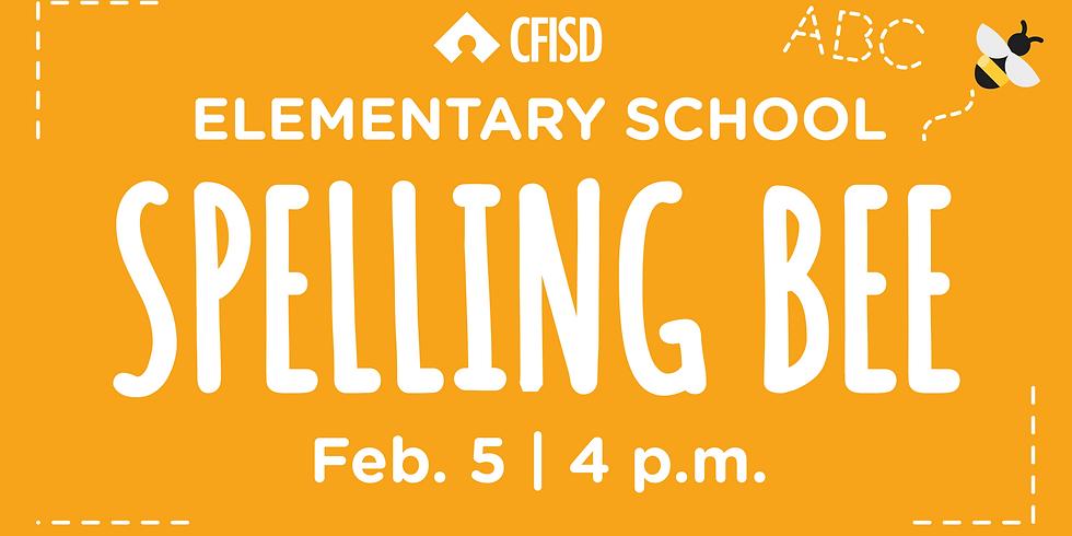 CFISD Elementary School Spelling Bee