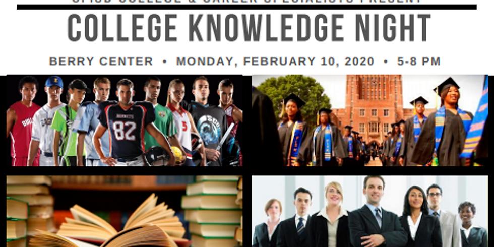 College Knowledge Night